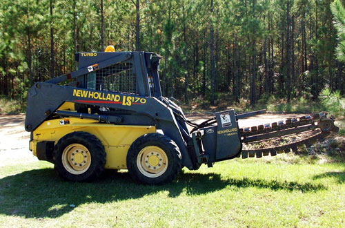 CAB Enterprises - Skidsteer With Ditch Witch Tool